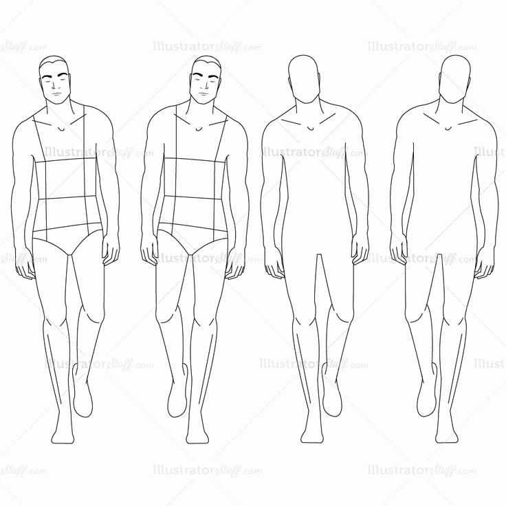 Body Template for Fashion Design Lovely 17 Images About Fashion Design
