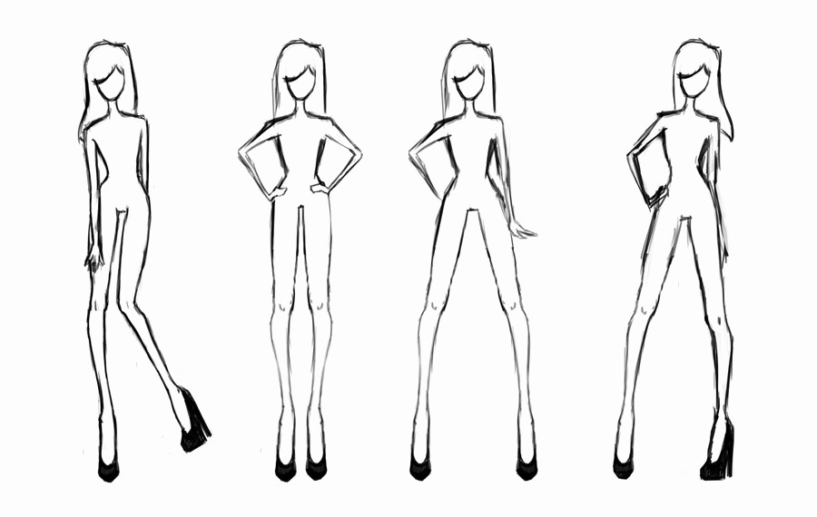 Body Template for Fashion Design Luxury 8 Best Of Printable Clothing Design Templates