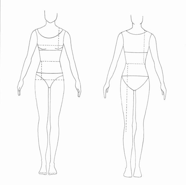 Body Template for Fashion Design Unique 12 Costume Design Template Fashion Design Model