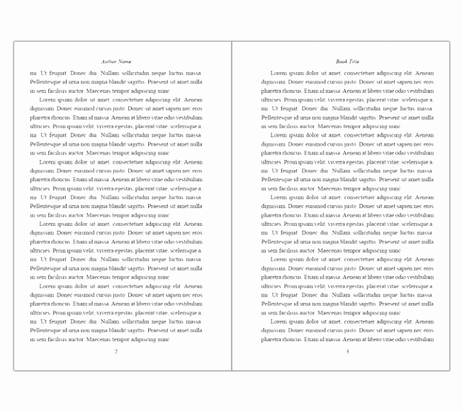 Book Writing Templates Microsoft Word Unique 9 Free Book Writing Templates for Word Fetuu