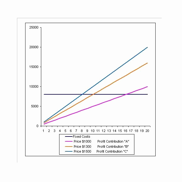 Break even Analysis Graph Template Luxury How to Use A Break even Analysis Excel Template
