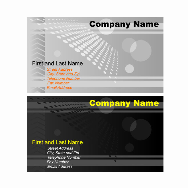 Business Card Template Illustrator Free Best Of Illustrator Business Card Template Graphics Download at