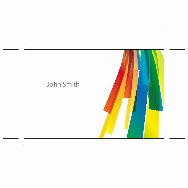 Business Card Template Illustrator Free Elegant Business Card Ai Template Download at Vectorportal