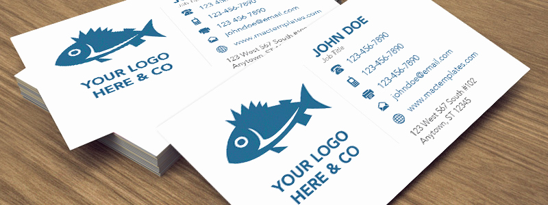 Business Card Template Illustrator Free Elegant Clean Business Card Template for Pages and Illustrator