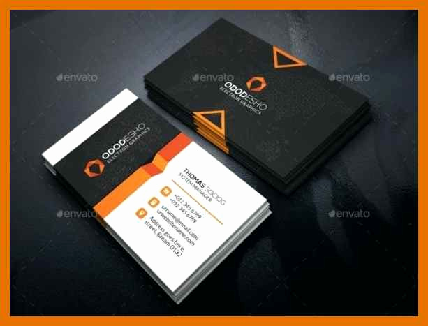 Business Card Template Illustrator Free Inspirational 8 9 Illustrator Business Card Template