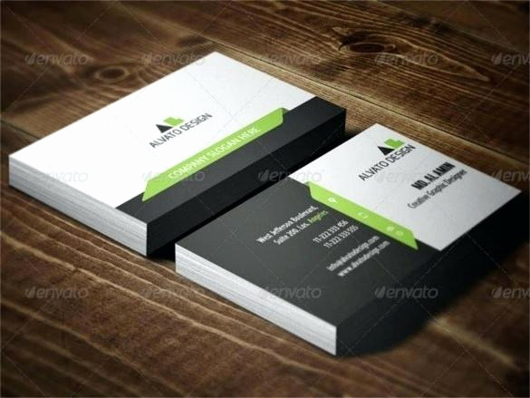 Business Card Template Illustrator Free Lovely Reflective Text Journalist Business Card Template