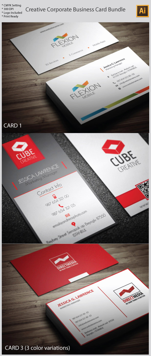 Business Card Template Illustrator Free New 15 Premium Business Card Templates In Shop