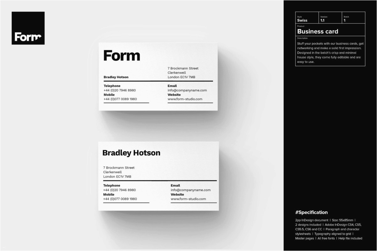 Business Card Template Illustrator Free New Adobe Illustrator Business Card Template Adobe