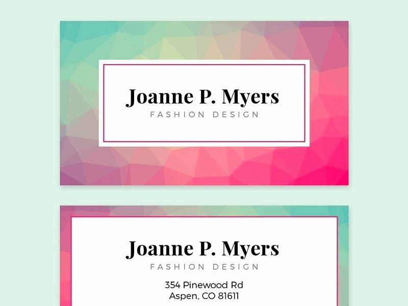 Business Card Template Illustrator Free Unique Adobe Illustrator Business Card Templates Free
