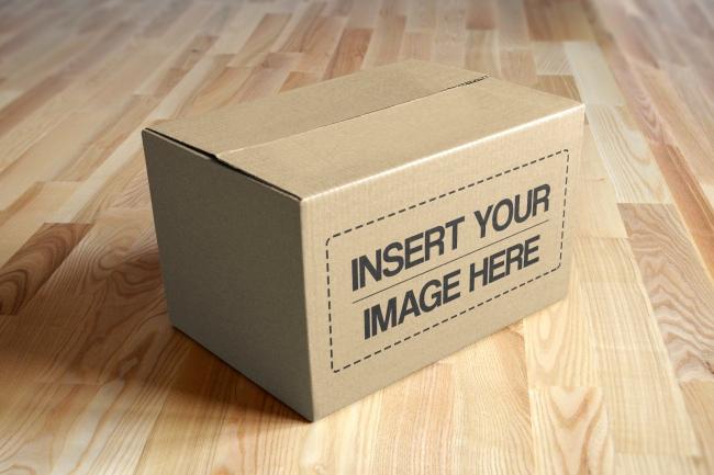 Cardboard Box Template Generator Elegant Cardboard Box Line Mockup Generator Mediamodifier