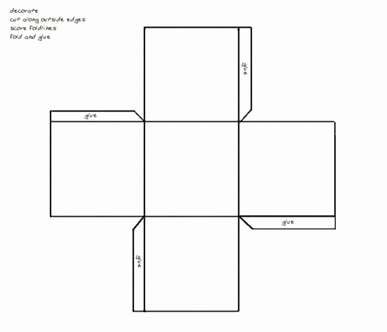 Cardboard Box Template Generator Elegant Printable Paper Gift Box Template Maker