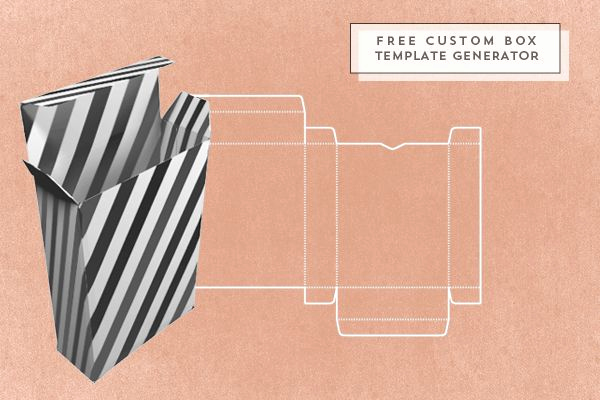 Cardboard Box Template Generator Lovely Free Custom Box Template Generator
