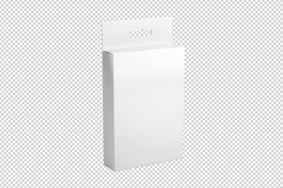 Cardboard Box Template Generator Unique Cardboard Hang Tab Box Mockup Generator Mediamodifier