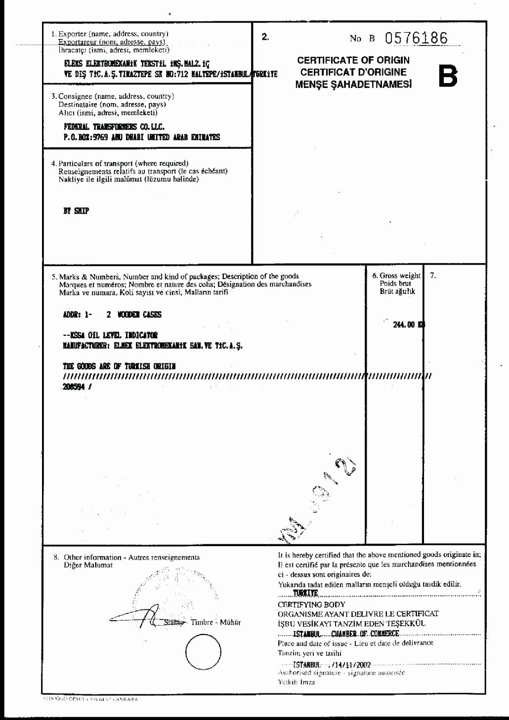 Certificate Of origin Template Excel Elegant Certificate origin Template Excel Templates Certificate