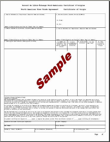 Certificate Of origin Template Excel Fresh 5 Certificate Of origin Templates Excel Pdf formats
