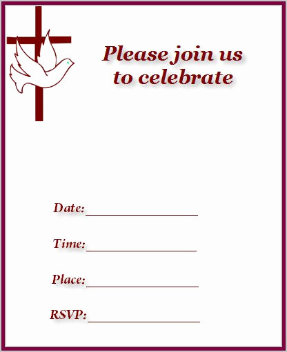 Church Invitation Cards Templates Awesome Church Invitation Cards Printable