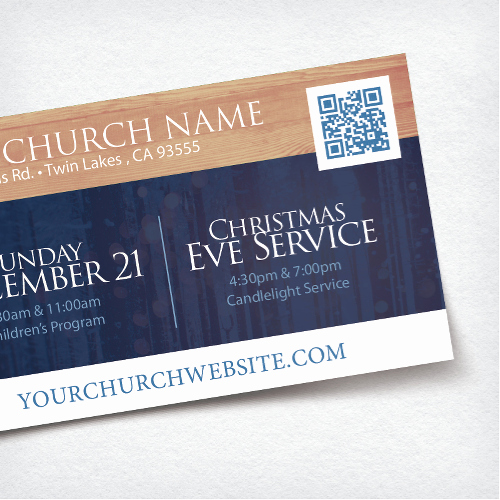 Church Invitation Cards Templates Beautiful Mini Church Invite Card 3 5x2 Fall is Here