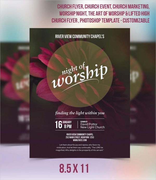 Church Invitation Cards Templates Inspirational 49 Printable Invitation Flyer Designs & Templates Psd