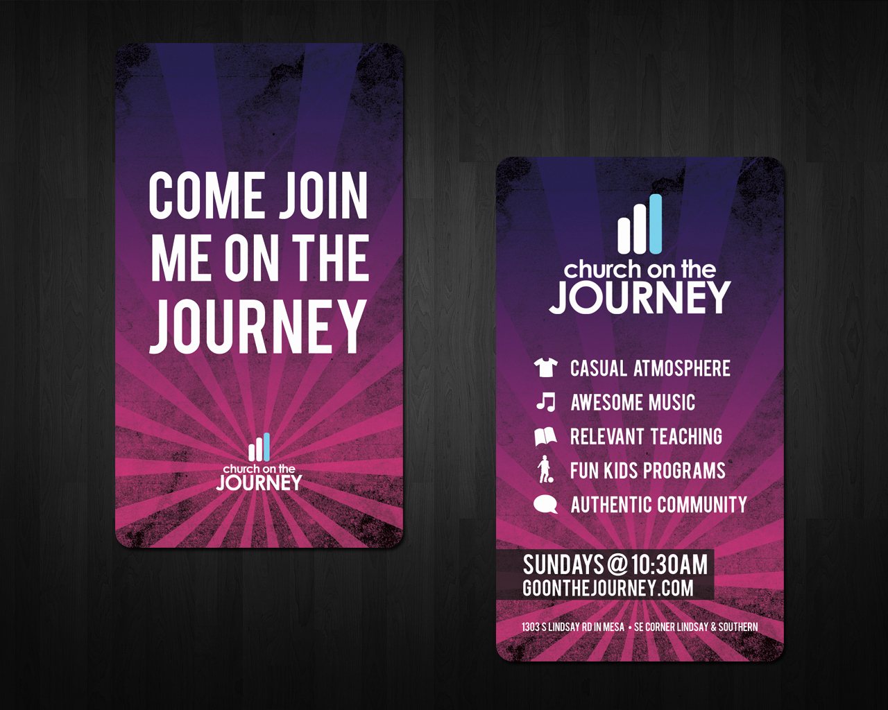 Church Invitation Cards Templates Inspirational Church On the Journey Invite Cards