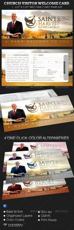 Church Visitor Card Template Word Inspirational Download This Visitor Card Click the Link Below Church