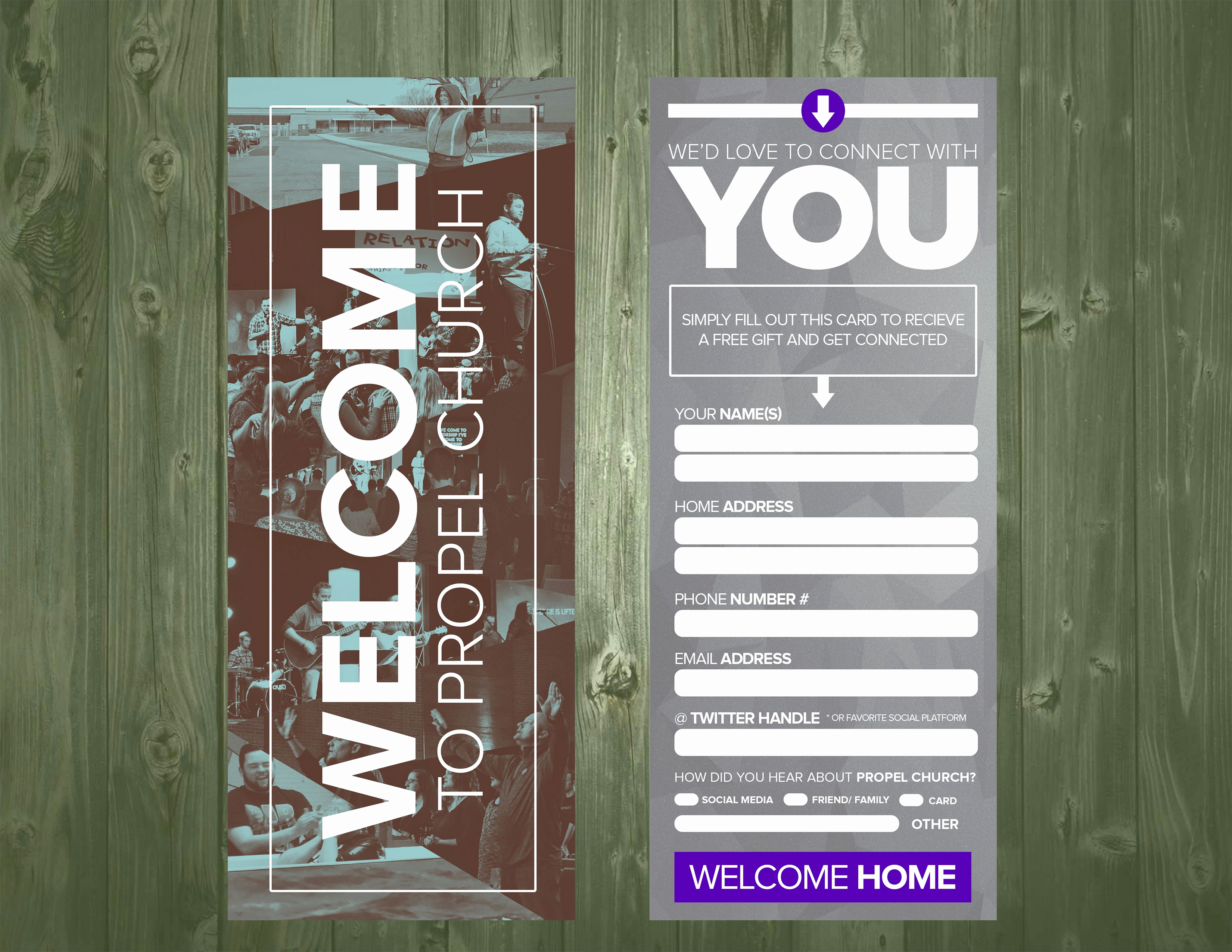 Church Visitor Card Template Word Lovely 3 5×9 Psd Connection Card Template