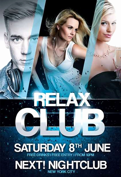 Club Flyer Templates Free Beautiful Download Free In Rock Flyer Psd Templates for Shop