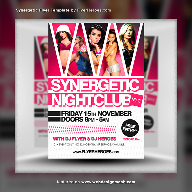 Club Flyer Templates Free Best Of 20 New Free Club Flyer Templates Website Design
