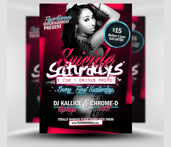 Club Flyer Templates Free Best Of 31 Free Psd Club Flyer Templates & Designs Psd