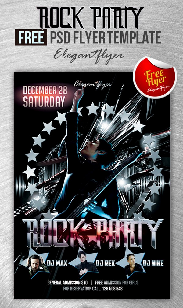 Club Flyer Templates Free Fresh 90 Awesome Free Flyer Templates Psd
