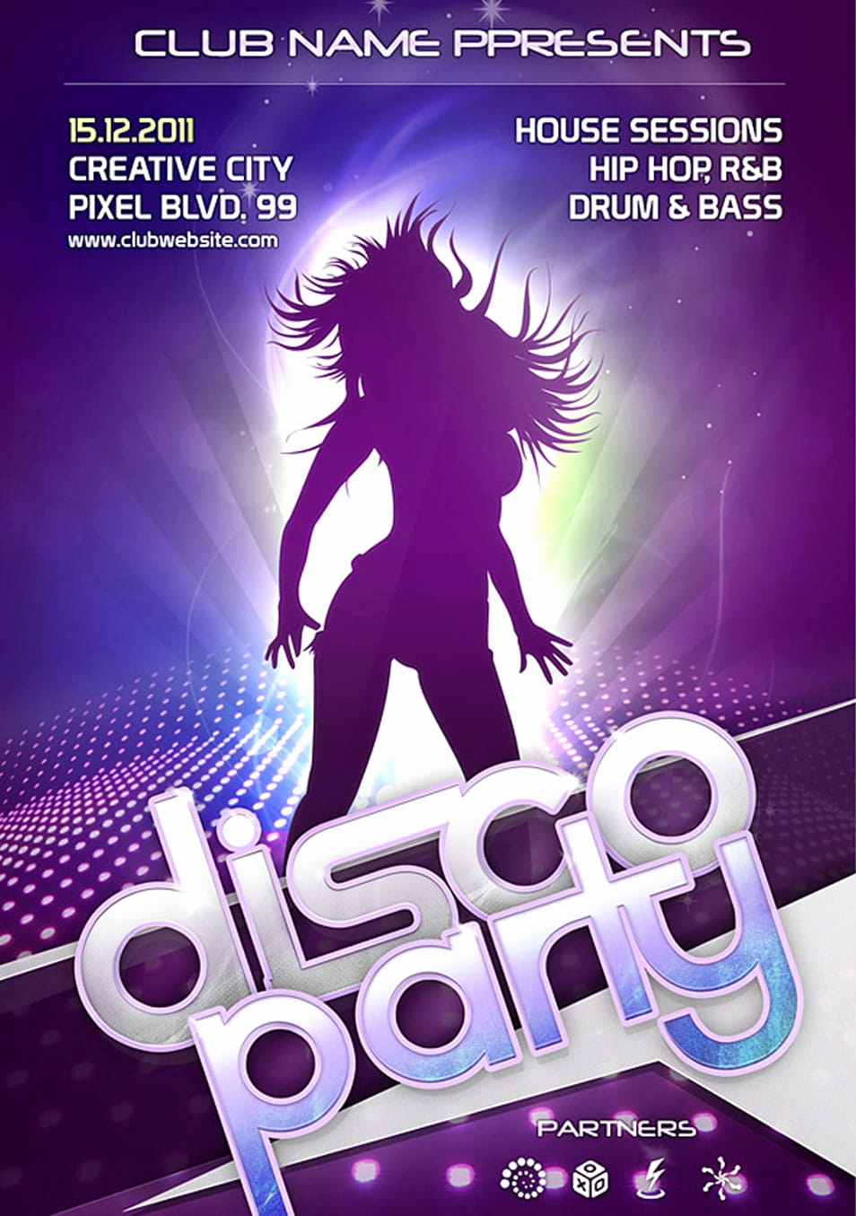 Club Flyer Templates Free Inspirational 60 Best Free Flyer Templates Psd