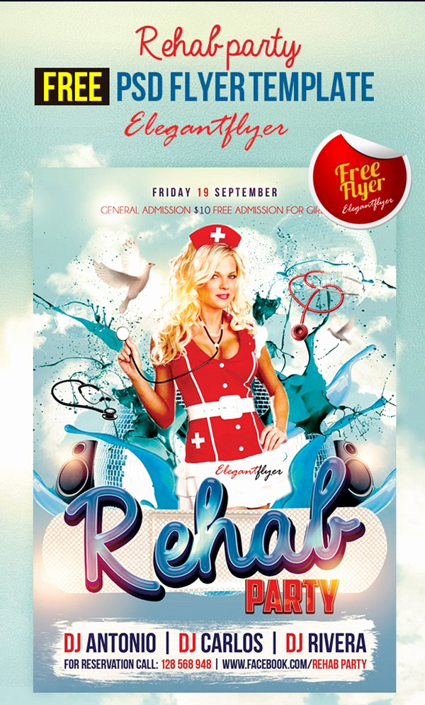 Club Flyer Templates Free Inspirational 90 Awesome Free Flyer Templates Psd