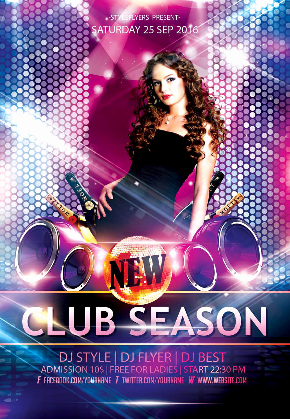 Club Flyer Templates Free Lovely New Party Season Free Psd Flyer Templates Graphicsfuel