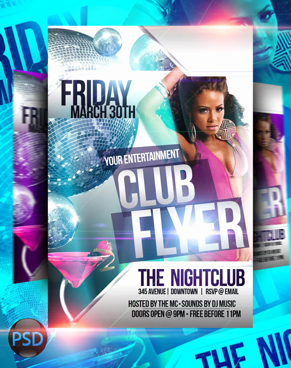 Club Flyer Templates Free Luxury Club Flyer Psd Templates by Imperialflyers On Deviantart