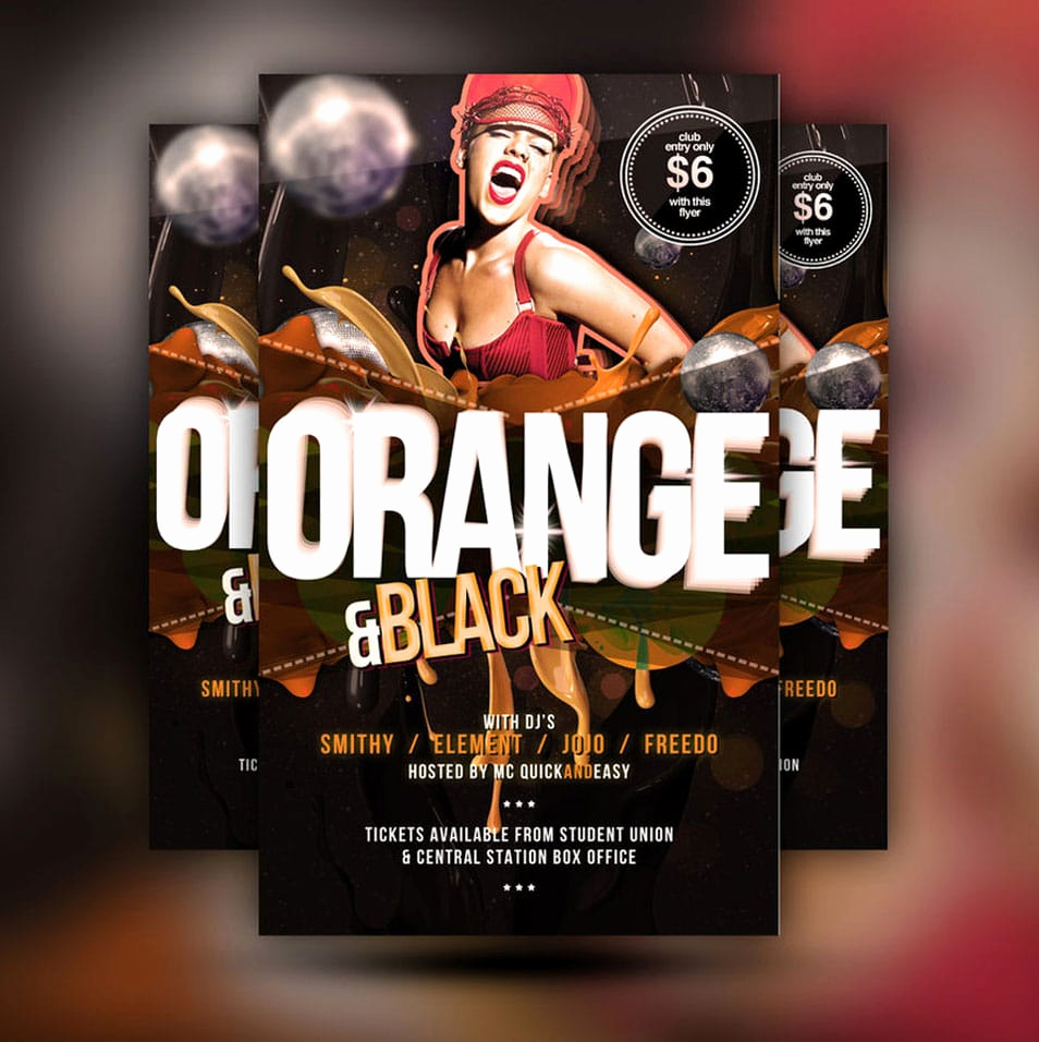 60 best free flyer templates psd
