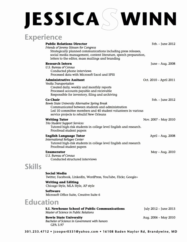 College Admission Resume Template Beautiful College Application Resume Examples for High School