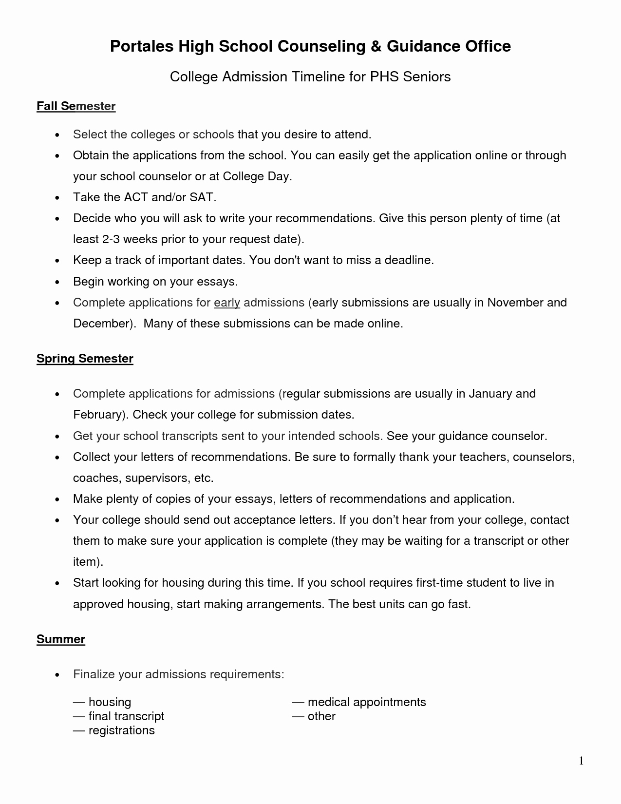 College Admission Resume Template Luxury High School Counselor Resume Samples Sidemcicek