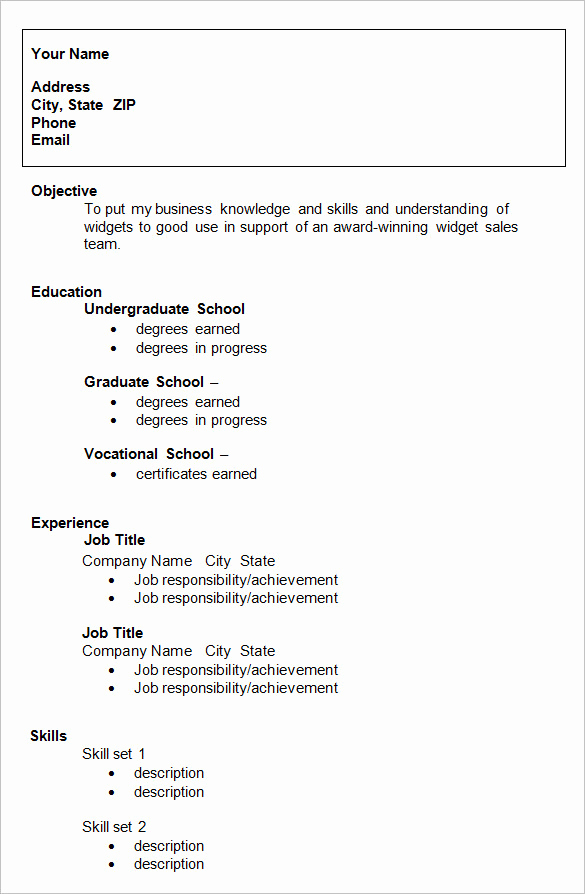 College Admissions Resume Templates Awesome College Graduate Resume Template Resume for College