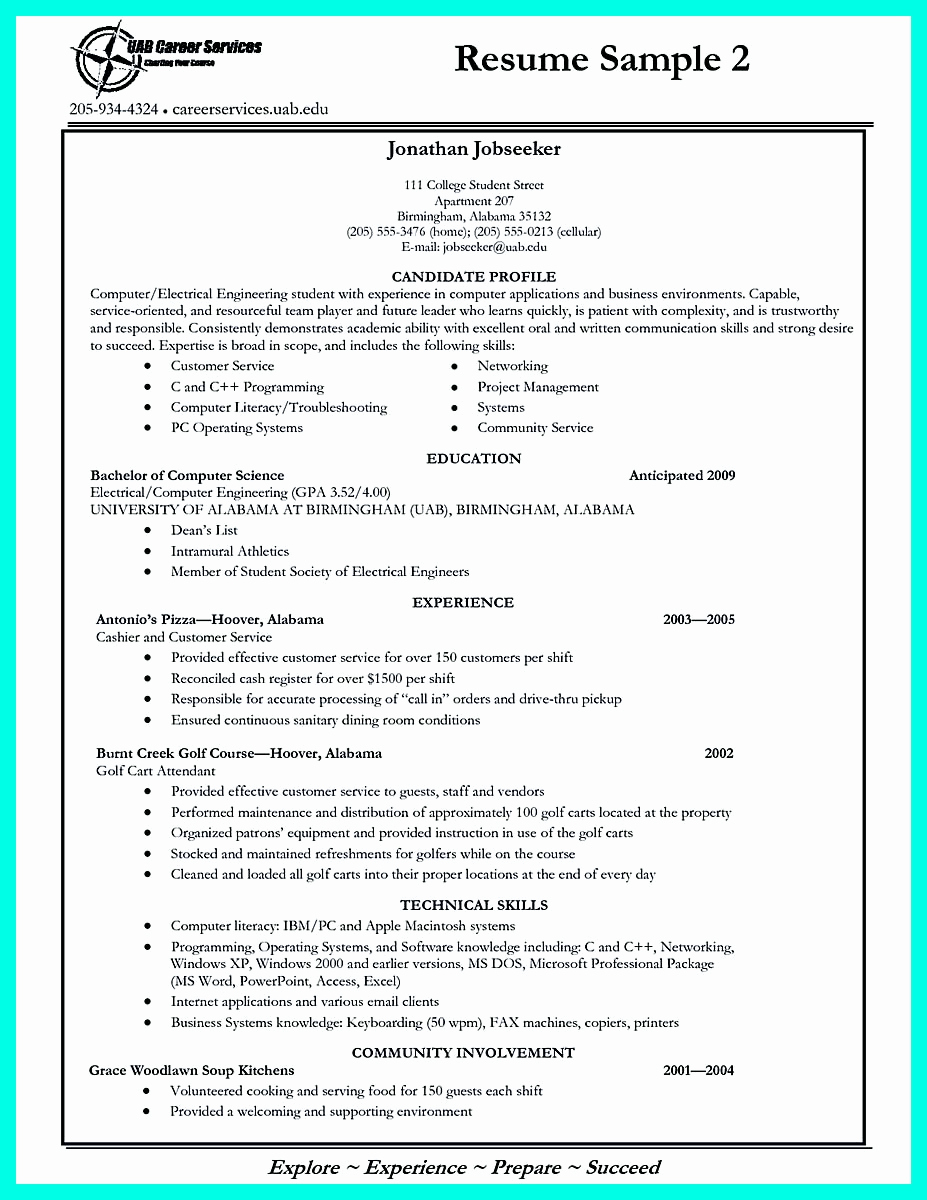 College Admissions Resume Templates Lovely Write Properly Your Ac Plishments In College Application