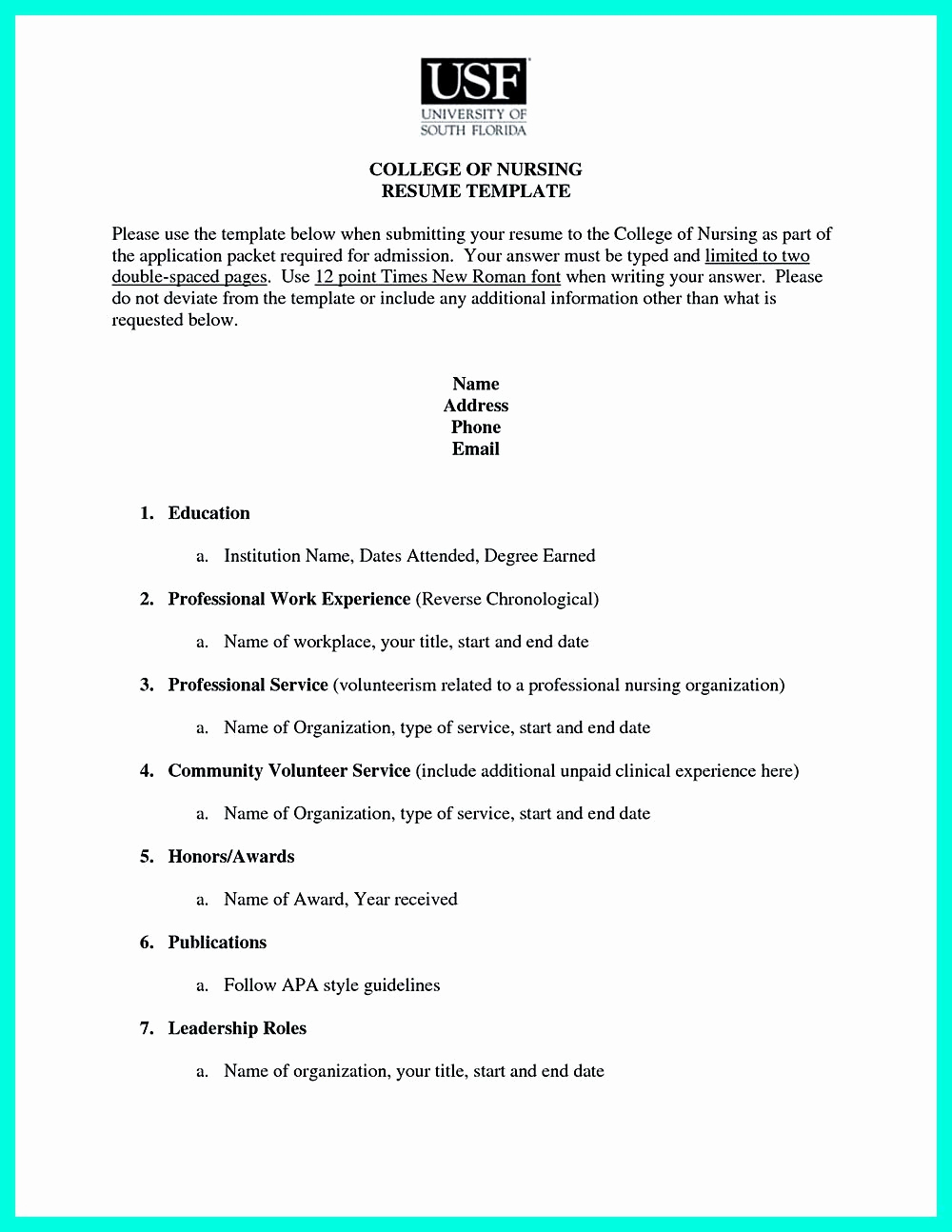 College Admissions Resume Templates Luxury Pin Di Resume Sample Template and format