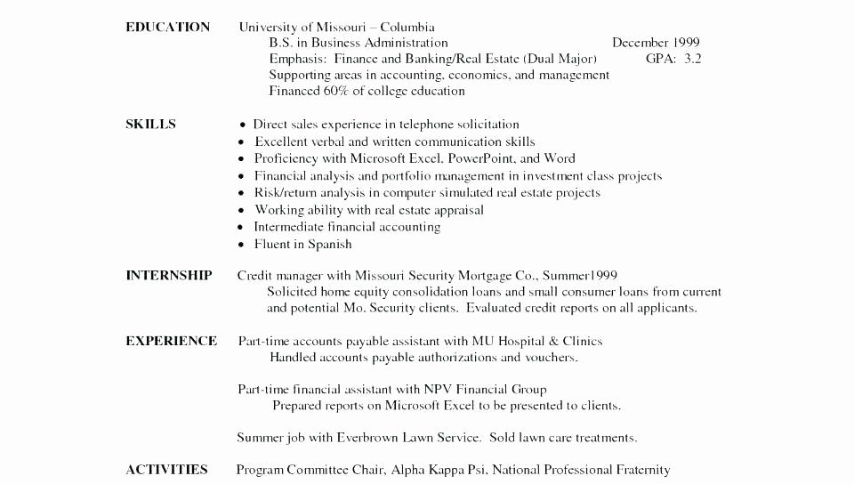 College Admissions Resume Templates Unique College Admission Resume Samples Application Templates