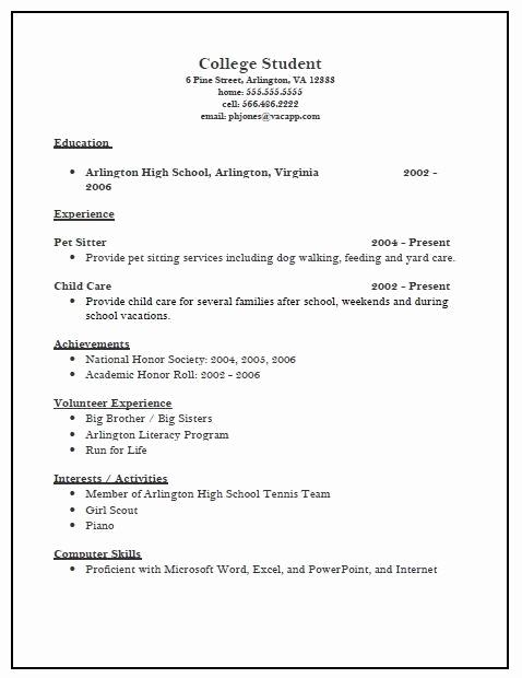 College Admissions Resume Templates Unique College Scholarship Resume Template Best Resume Collection