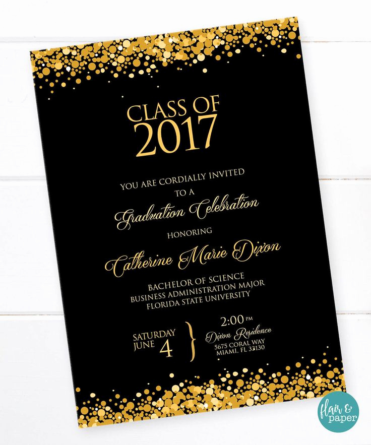 College Graduation Invitations Templates Beautiful 25 Best Ideas About High School Graduation Invitations On