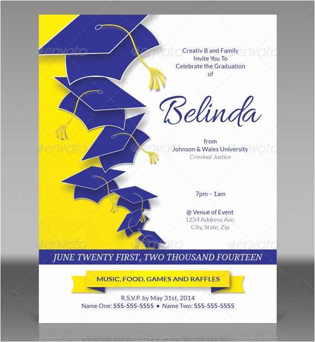 College Graduation Invitations Templates Elegant 18 New College Graduation Invitation Templates