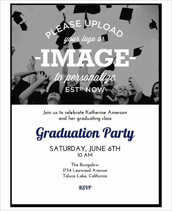 College Graduation Invitations Templates Lovely 37 Invitation Templates Word Pdf Psd Publisher