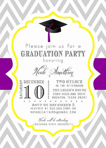 College Graduation Invitations Templates Luxury College Graduation Party Invitations Templates