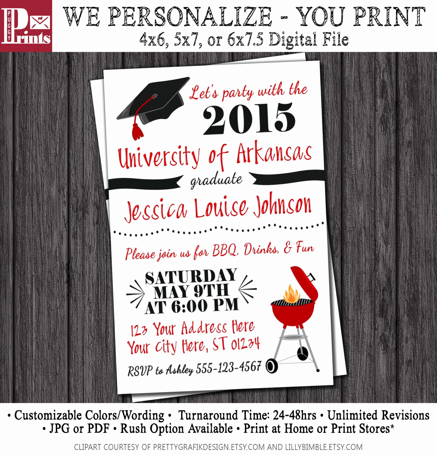 College Graduation Invitations Templates Unique College Graduation Party Invitations