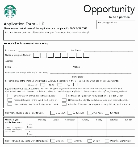 Construction Job Application Template New Simple Job Application Template Inspirational form