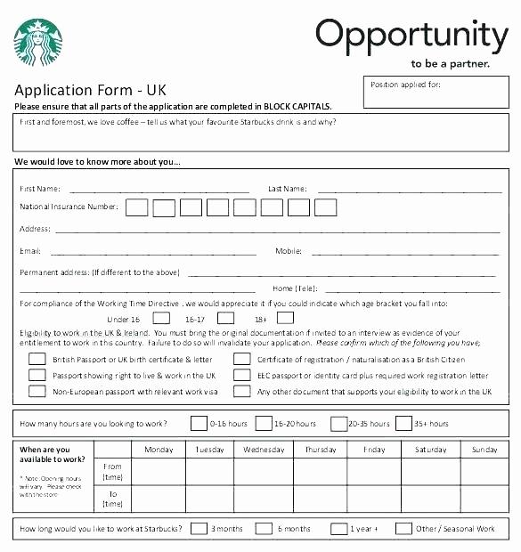 Construction Job Application Template New Simple Job Application Template Inspirational form