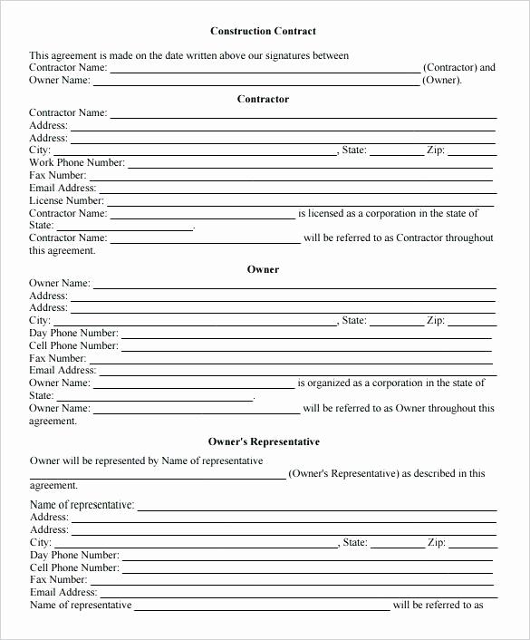 Construction Job Application Template Unique Application for Construction Pany Job Employment