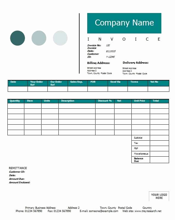 Contractor Invoice Template Word Best Of Contractor Invoice Template Printable Word Excel